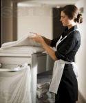 Для уборки дома нужны женщины возрастом до 50 лет.
