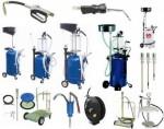 HD-806 Установка для слива и откачки масла с пневмонасосом (