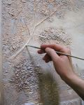 Барельєфи ,рельєфний розпис стін, рельєфні картини.