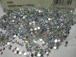 Стрази ss16 Crystal AB, 1440шт, (3,8-4,0 мм) хамелеони