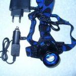 POLICE BL-6816 15000W Налобний тактичний ліхтарик