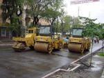Асфальтирование дорог и установка дорожнего бордюра в Днепро
