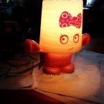Світильник в горщику, світильник декоративний, світильник в