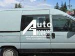 Передній салон праве вікно на Fiat Scudo, Peugeot Expert, Ci