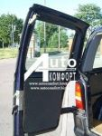 Заднє скло (сорочечка ліва) на Mercedes-Benz Vito 96-03