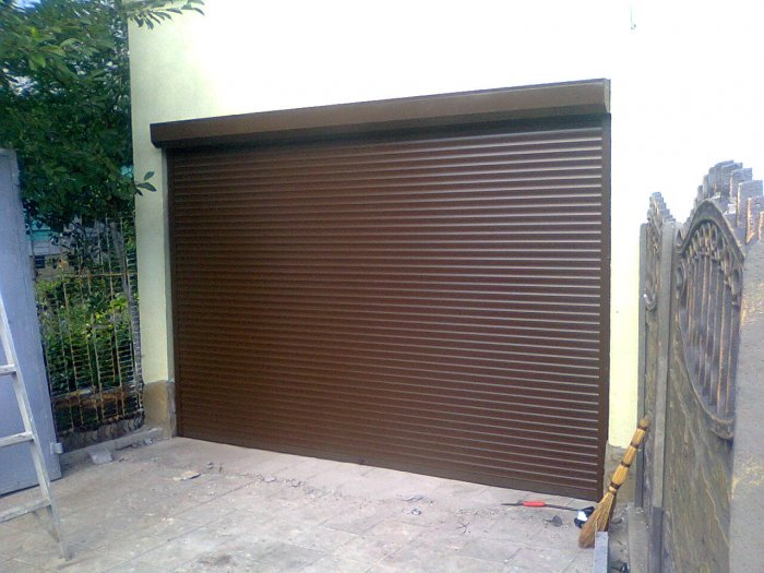 Ролета на гараж