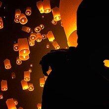небесні ліхтарики, повітряні китайські ліхтарики