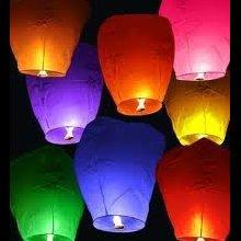 Небесні ліхтарики, Повітряні ліхтарики бажань