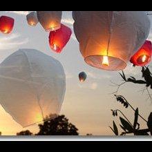 Небесні ліхтарики, небесные фонарики