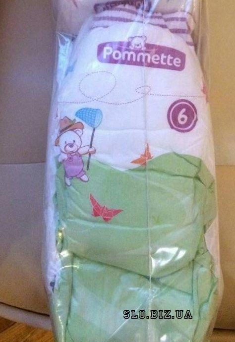 Подгузники подгузники-трусики детские Pommette eko