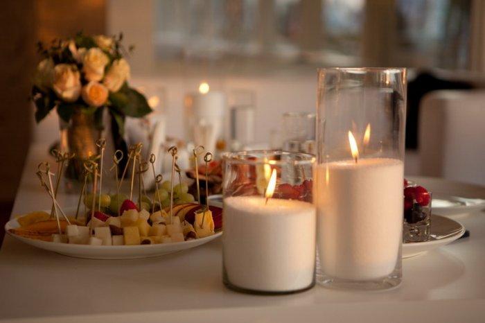Пальмовый воск для насыпных свечей.