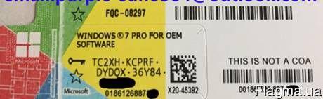 Продам лицензионные наклейки Windows 7, 8.1, 10, офисы 2013, - фото