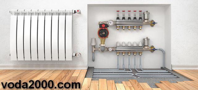 Cистеми опалення, водопостачання, водовідведення - фото