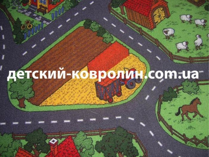 Килимок дитячий Farm. Дитячі килими в Інтернет-магазині. - фото