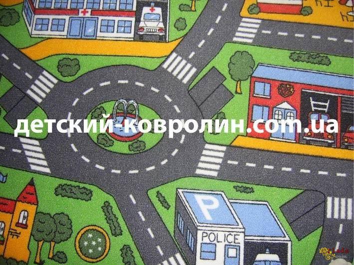 Килимок з дорогами City Life. - фото
