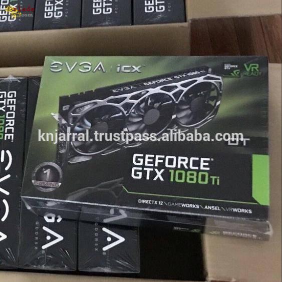 EVGA GeForce GTX 1080Ti 11GB GDDR5X FTW3 Gaming - фото