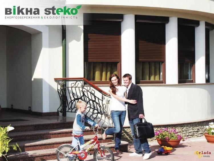Защитные роллеты Steko для окон и дверей. Николаев - фото