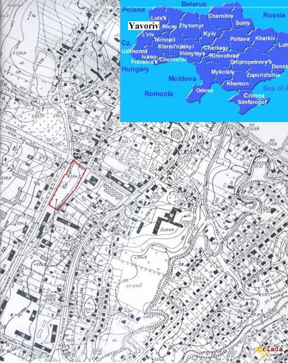 Срочно продам собственный земельный участок Львовская область г.Яворов - фото