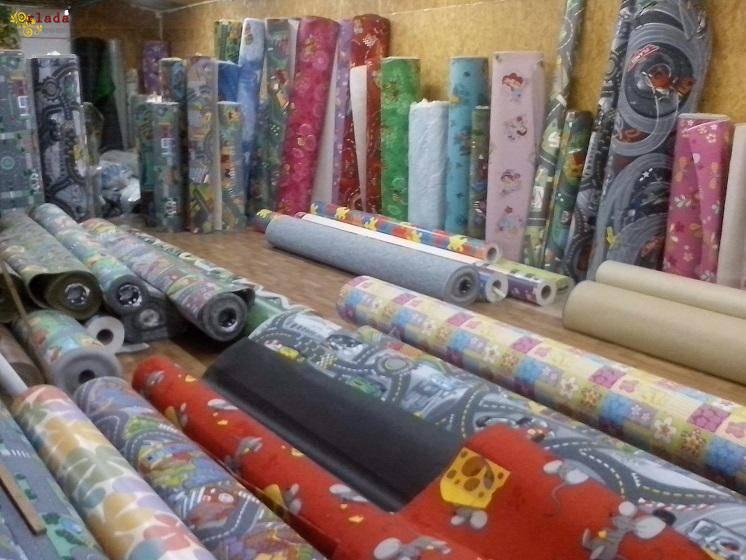 Магазин килимів. Килими в дитячу кімнату. - фото