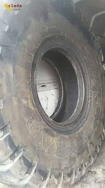 Б/у шина для самосвала малыш 18,00R25 GoodYear - фото