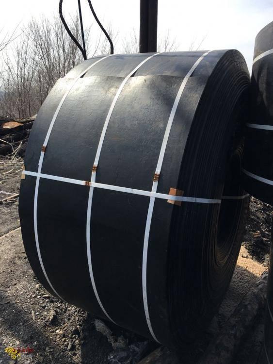 Стрічка конвеєрна (транспортерна) гумотканева - фото