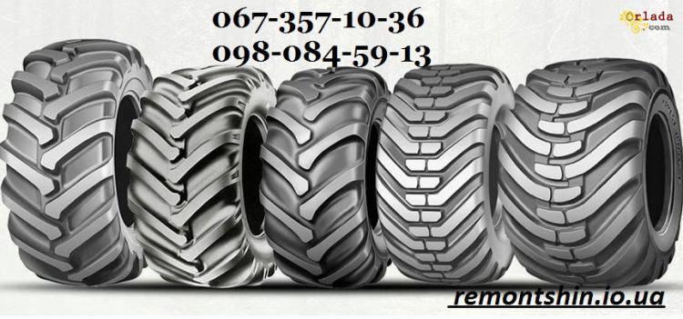 Новая шина для мини погрузчика типа bobcat 10-16.5 и 12-16.5 - фото