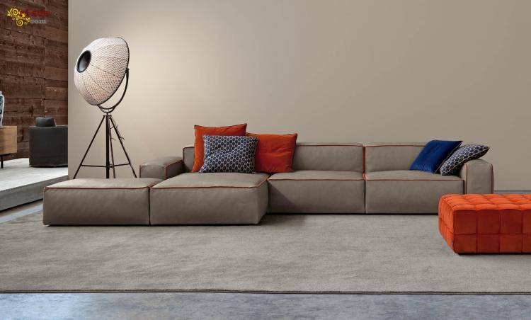 Итальянские диваны, элитные кожаные диваны - фото