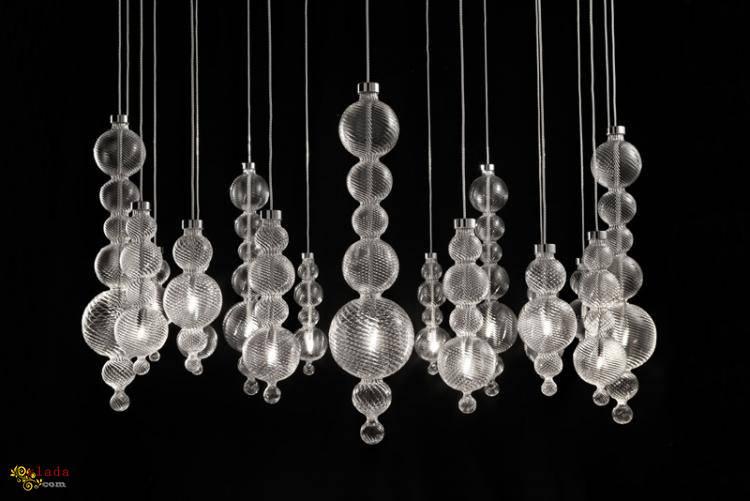 Итальянские лампы, светильника, бра, торшеры, люстры - фото