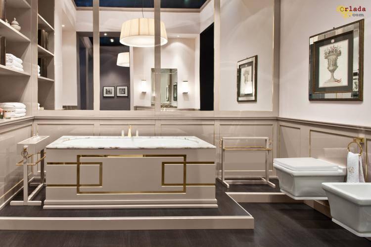 Итальянская мебель и аксессуары для ванной - фото