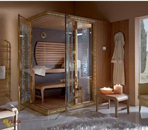 Итальянская мозаика, бани, хамамы, спа, бассейны - фото