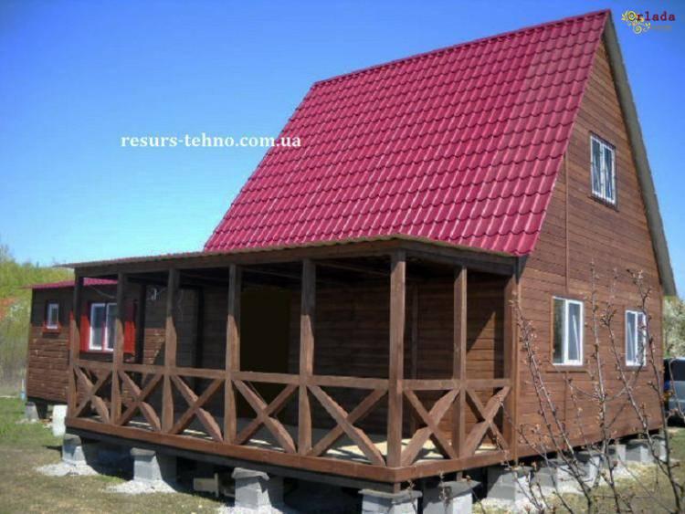 Дачные домики Доступные цены - фото