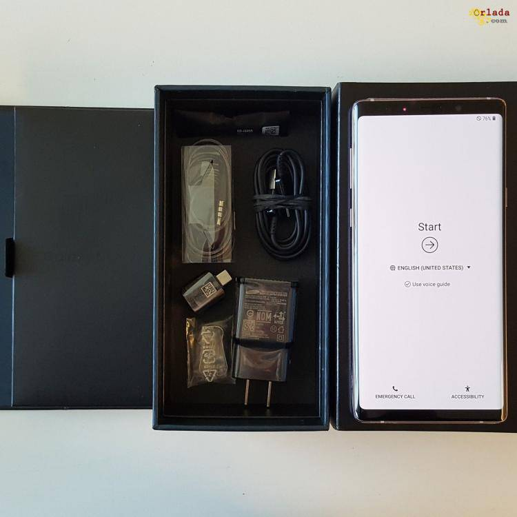 I have brand new Unlocked Iphone and lastest samaung note9 - фото