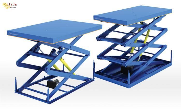 Подъемные столы - фото