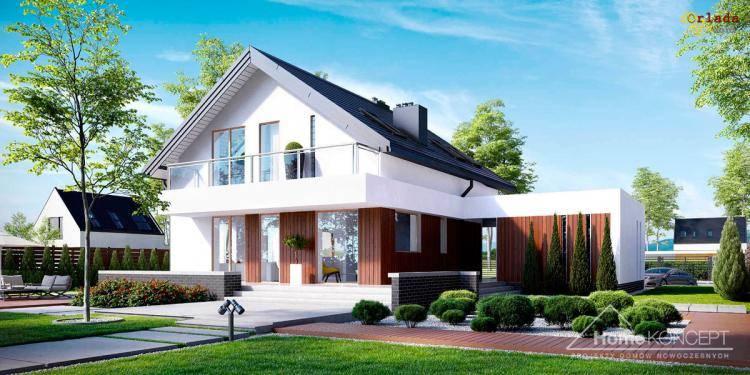 Готовые проекты домов и коттеджей от 150 грн/м2. Индивидуальное проектирование - фото
