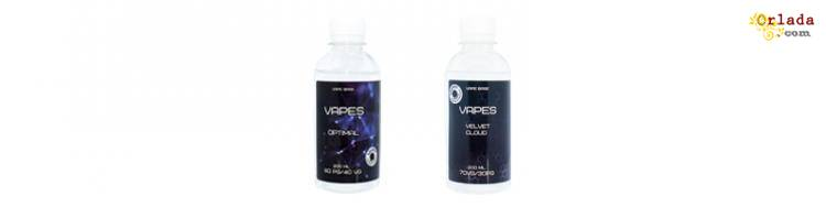 """Жидкости для электронных сигарет ТМ """"VAPES"""" премиум-класса - фото"""