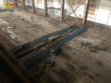 Демонтаж мостових кранів і складних конструкцій - фото