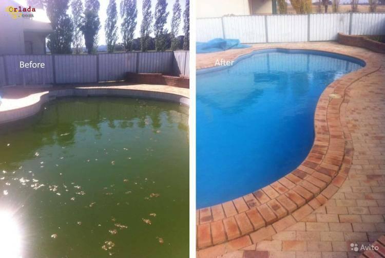Перекись водорода, очистка воды в бассейне 60% 50% 35% пергидроль - фото