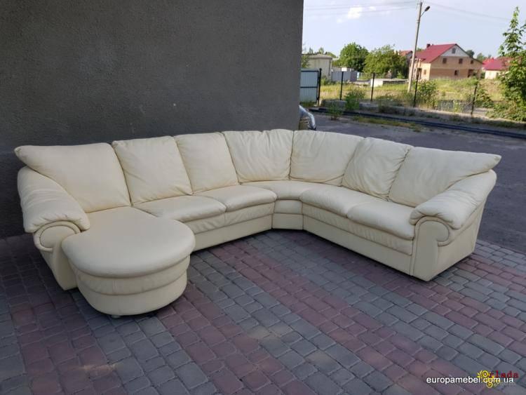 Оптовая и розничная продажа кожаной мягкой Б/У мебели из Европы (Германия) - фото