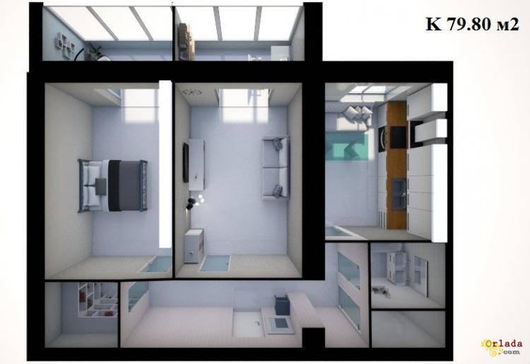 Квартира в новобудові ЖК 777 11500 гр/м2 Житомир - фото