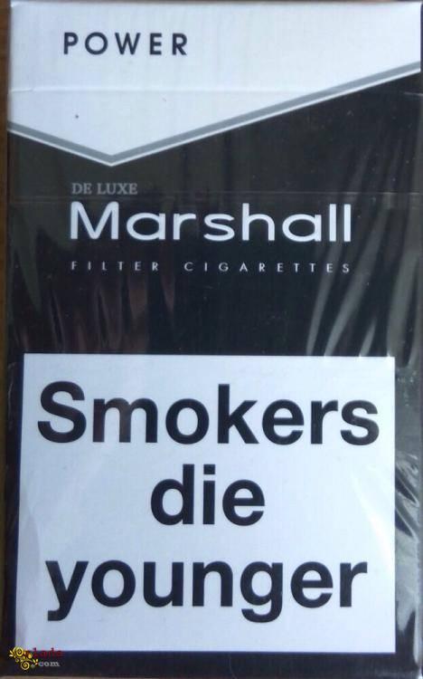 Сигареты Marchall красный,синий,чёрный, оптом-230$! - фото