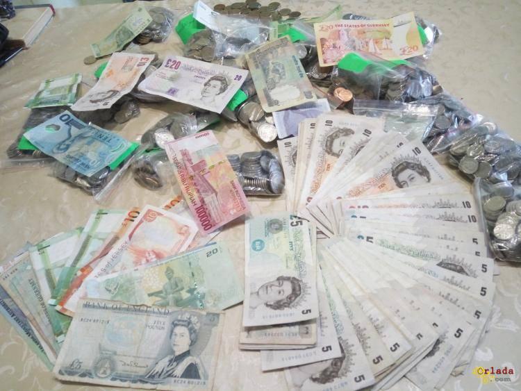 Услуги обмена поврежденных купюр Одесса - фото