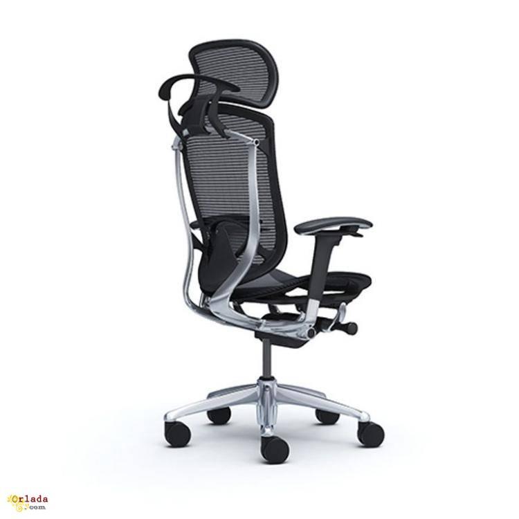 Кресло  руководителя OKAMURA CONTESSA 2 SECONDA Black, полированный - фото