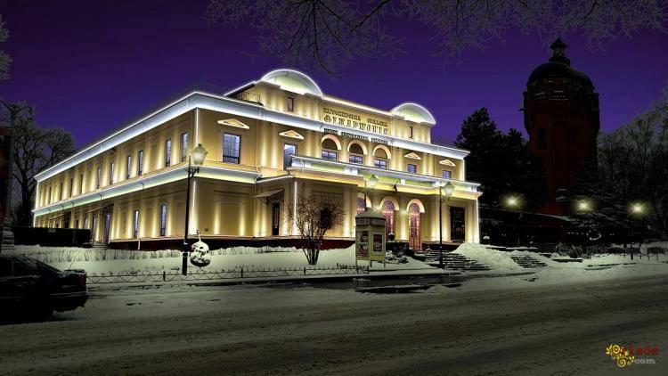 Архітектурне освітлення, підсвічування фасадів в Києві - фото