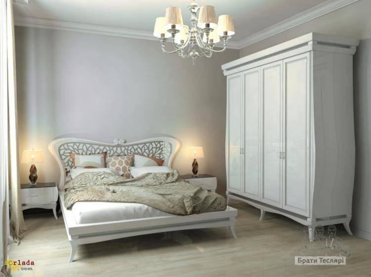 """Кровать из дуба """" Дыхание бабочки"""" - фото"""