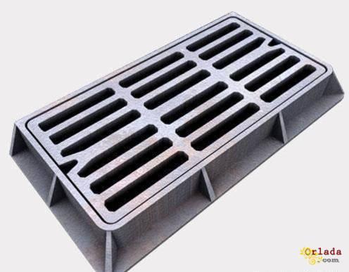 Дощоприймач пластмасовий ДБ – 2 ХП з замком - фото