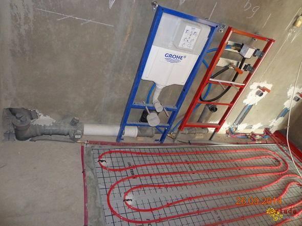 Монтаж сантехнічних систем від професіоналів Київ і область - фото