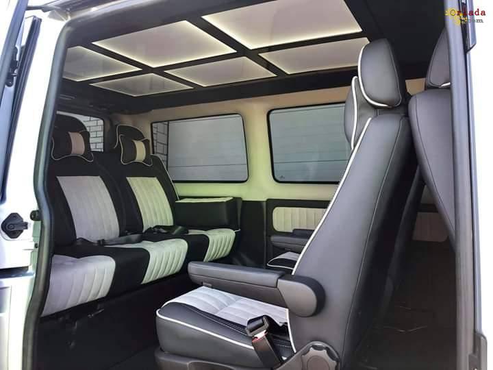Переоборудование микроавтобуса в пассажирский, дом на колесах - фото
