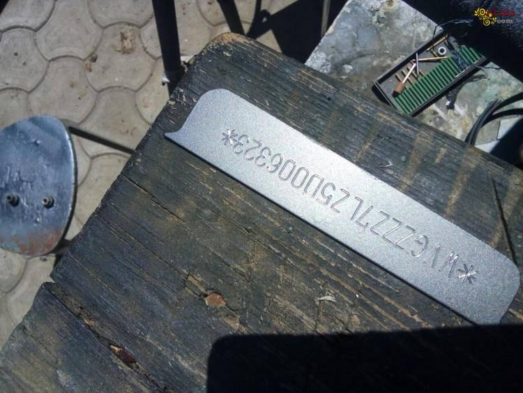 Восстановление и изготовление наклеек, табличек, железа с VIN (ВИН) Кодом - фото