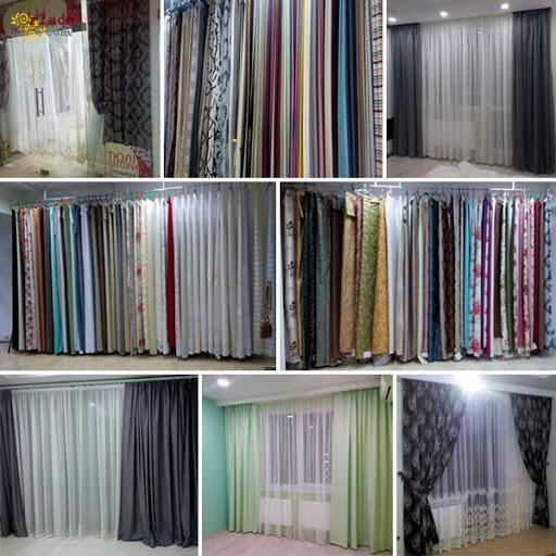 Продажа штор и тканей для пошива штор в Украине - фото