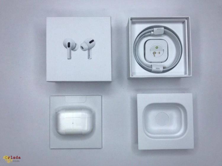 Беспроводные наушники Apple AirPods PRO Bluetooth 5.0 с кейсом - фото